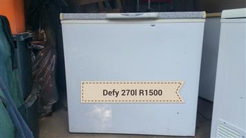 Defy 260l chest freezer