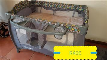 Grey camp cot for sale