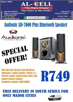 Audionic AD-7000 Bluetooth Speaker