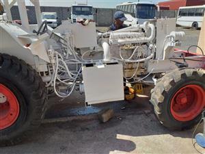 Flameproof tracror for coalmines