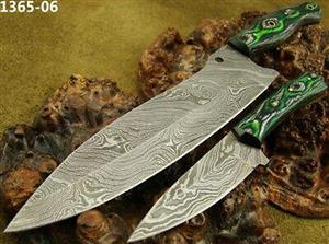 Handmade Damascus Steel Chef's Knife Set