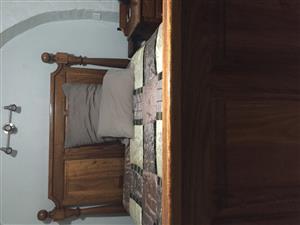 Solid Imbuia Bedroom Suite