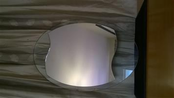 Artistic shaped wall mirror for sale