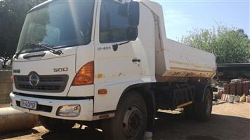 Hino 5m3 Tipper without engine