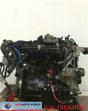 Imported used  FIAT PALIO 1.1L, 188A4000, Complete second hand used engines