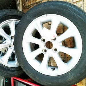 Tyres and rims for sale