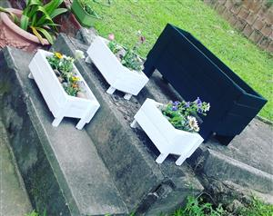 Custom Planter Boxes (Herb Planters and Benches also Available)