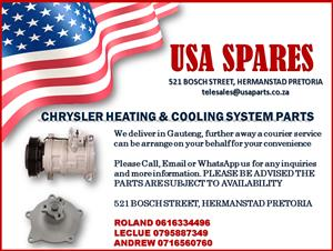 CHRYSLER HEATING AND COOLING SYSTEM PARTS