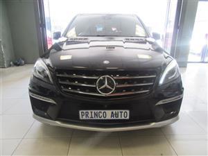 2014 Mercedes Benz ML 63 AMG