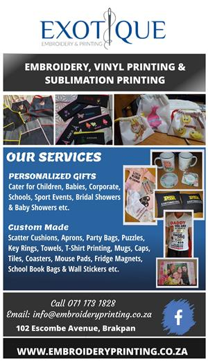 Exotique Embroidery & Printing