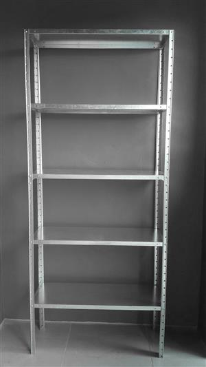 Multipurpose  bolt and nut shelving solution