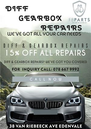 Gearbox Sales and Repairs