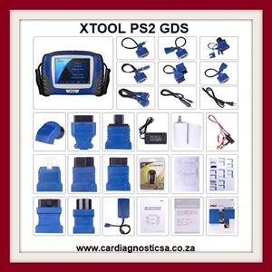 New XTOOL PS2 GDS Gasoline Bluetooth Diagnostic Tool 1 WEEK SPECIAL PRICE R8999