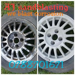 AJ sandblasting