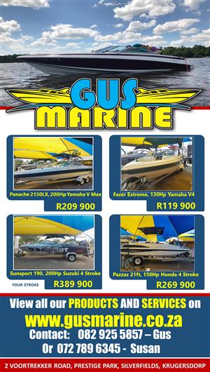 Gus Marine Watercrafts (We Create a Lifestyle)  Sales and Repairs