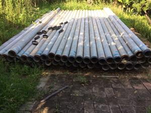 galvanised water pipe