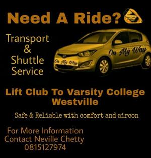 Transport Shuttle Service