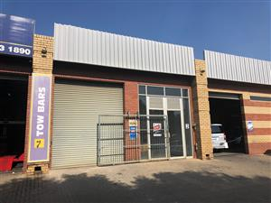 SIMARLO RAINBOW: SHOWROOM / WAREHOUSE TO LET IN HENNOPS PARK, CENTURION, WITH RETAIL POSSIBILITIES!