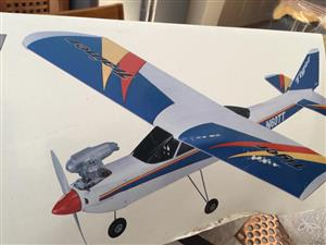 Tiger Trainer 60  Aircraft Kit Almost ready to fly Radio controlled Aircraft kit - new and unused