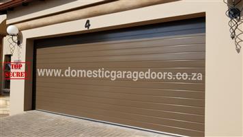 Quality upmarket smart aluminum garage doors