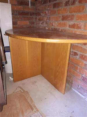 Halfround Table for sale.