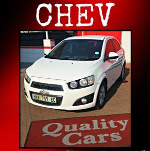 2012 Chevrolet Sonic sedan 1.6 LS