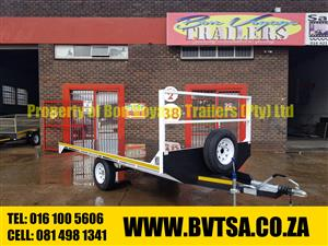 4 Meter Braked Flatbed Trailer For Sale.
