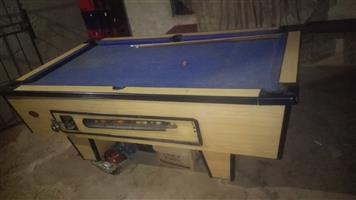 coin operated pool table