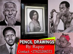 PENCIL DRAWING ARTIST