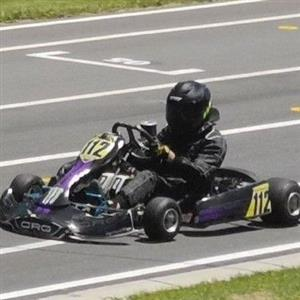 race Kart chassis rolling