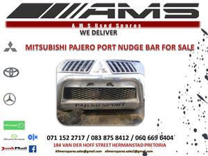 PAJERO SPORT NUDGE BAR