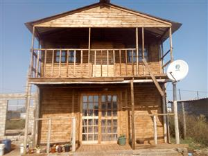 wooden house for sale