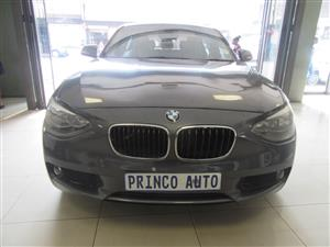 2012 BMW 1 Series 120d 5 door auto
