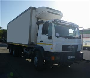 2014 M.A.N CLA 26.280 double diff fridge truck - AA3120 - used truck for sale Durban KZN