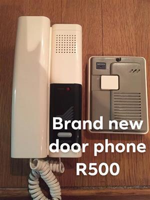 Brand new doorbell