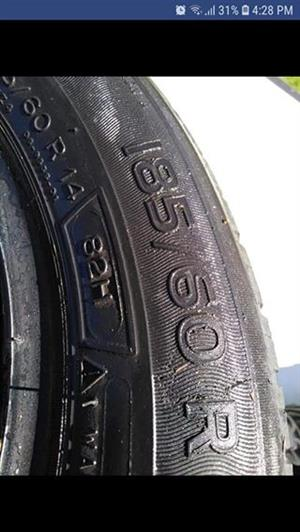 4 x 185/60/14 Michelin tyres for sale