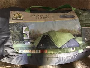 Total camping goods needed for four to six people