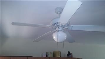 Large ceiling fans 1.2 m with light