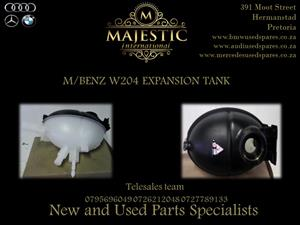 M/BENZ NEW W204 EXPANSION TANKS FOR SALE..
