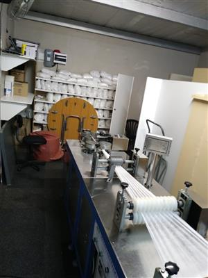 Nonwoven Surgical mop cap making machin