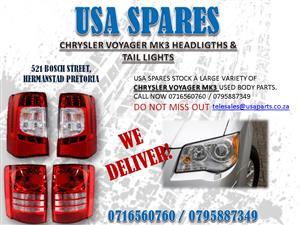 CHRYSLER GRAND VOYAGER MK3 HEADLIGHTS FOR SALE