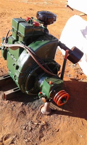 Lister 2 silinder / cylinder diesel engine