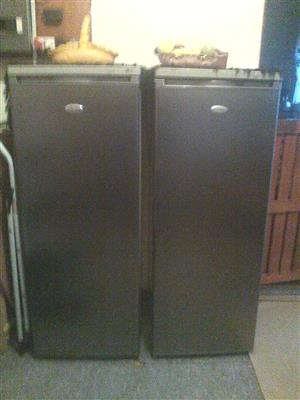 Big Metallic Telefunken double door fridge and freezer for sale