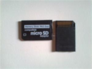 PSP Pro Duo Adapter