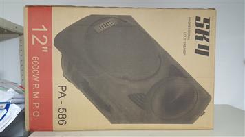 SKY PA-586 PROFESSIONAL BATTERY SPEAKER