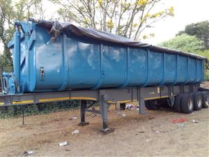 side tipper trailer to rent