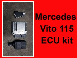 Mercedes Vito 115 ECU kit for sale.