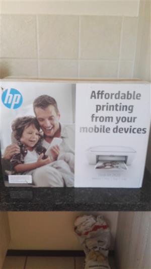 HP Bluetooth printer and scanner