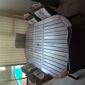 Patio 6 seater set