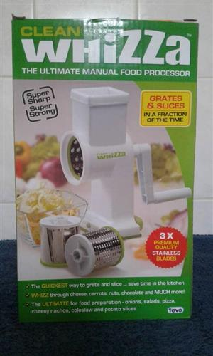 Whizza manual food processor